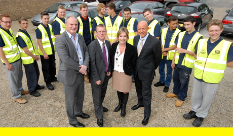Mulalley and Basildon Council launch training scheme for young people in borough